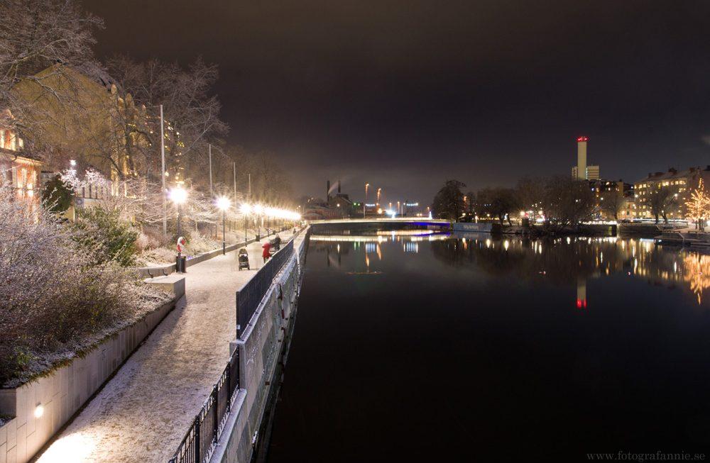 Vinterljus i Norrköping