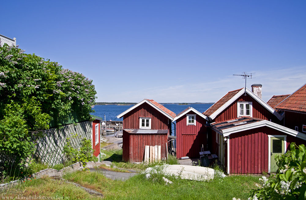 Junidag på Sandhamn