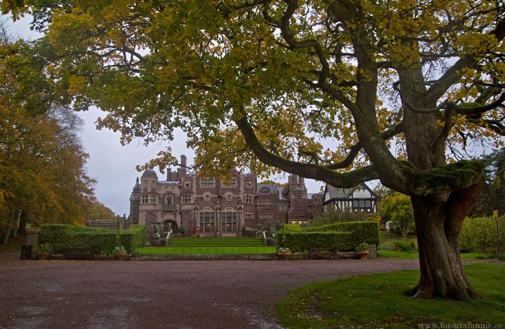 Besök på ett höstigt slott