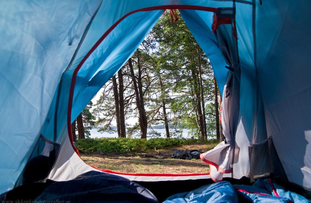 Invigning av tält