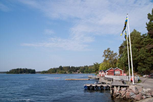 En höstdag på Svartsö