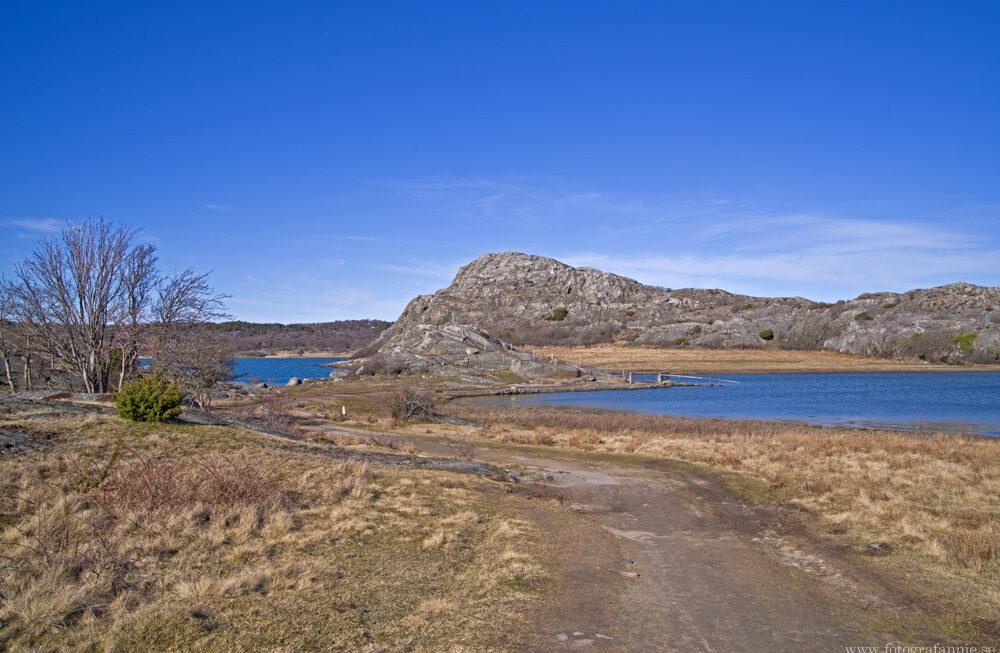 Vackra vyer, grottor och konstverk i Bohuslän